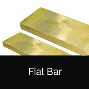 Bronze flat bar